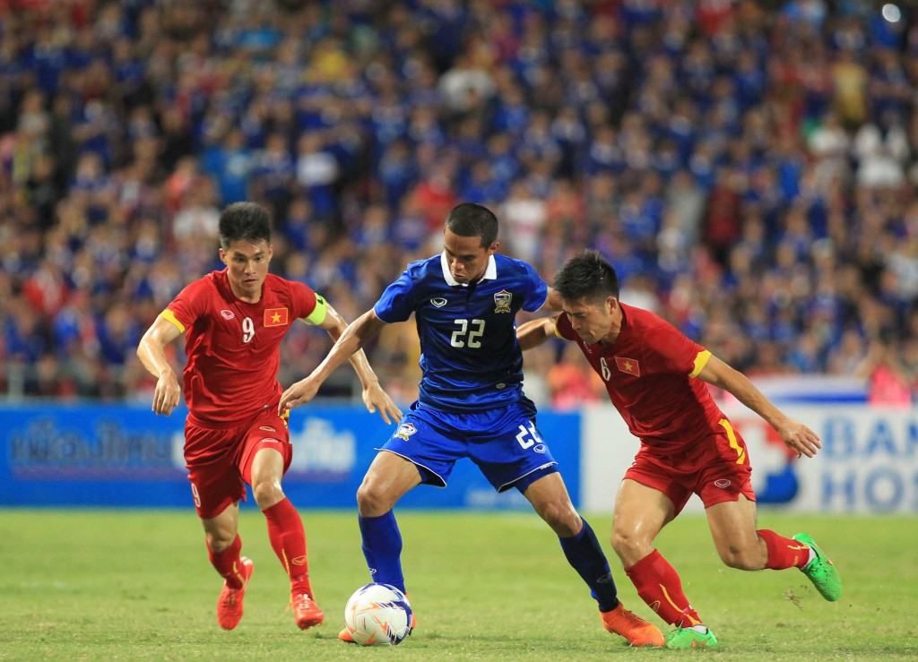 Thai Lan )xanh)  - Viet Nam 3