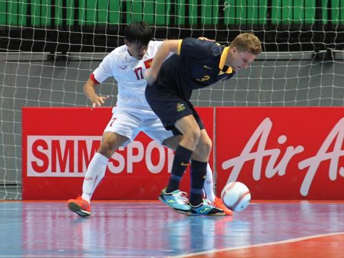 Giải Futsal ĐNÁ 2015: ĐTVN gặp Thái Lan tại bán kết