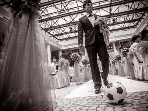 Ảnh cưới của dân thể thao