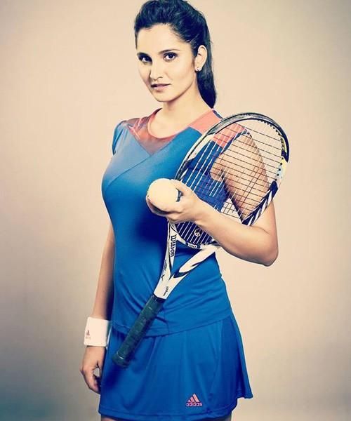 5 nữ VĐV quần vợt quyến rũ nhất thế giới: Sania Mirza