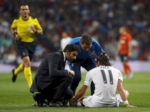Bale chấn thương, Real nổi cơn lôi đình