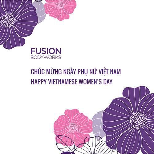 Trở thành hội viên của Fusion Bodyworks - Nhận ngay gói quà tặng trị giá 12 triệu đồng