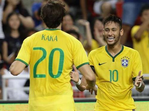 Kaka: Neymar sẽ phá vỡ kỷ lục tại World Cup