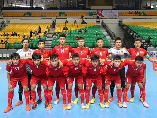 Giải Futsal vô địch ĐNÁ 2015: Việt Nam có chiến thắng thứ 2