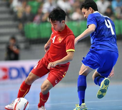 Giải Futsal ĐNÁ 2015: ĐTVN dừng chân tại bán kết