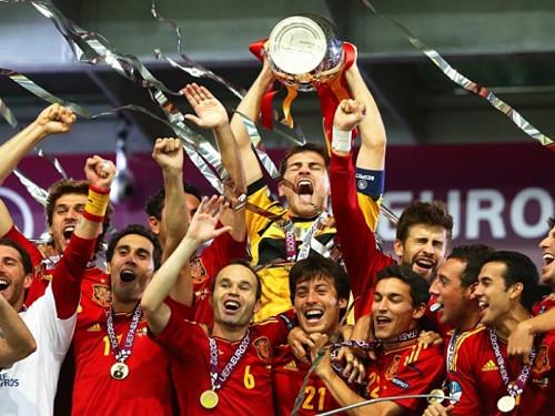 Nhìn Tây Ban Nha mà mơ vô địch