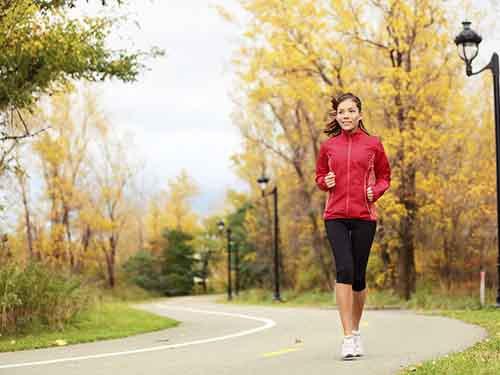 Chạy bộ giảm cân không lo chân to
