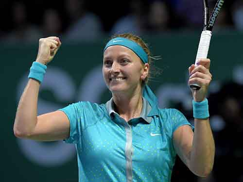 Petra Kvitova giành vé thứ 4 tới Singapore