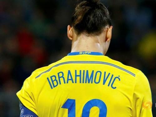 23h00 (12/10), Thụy Điển - Moldova: Zlatan Ibrahimovic - Quá muộn cho một tài năng