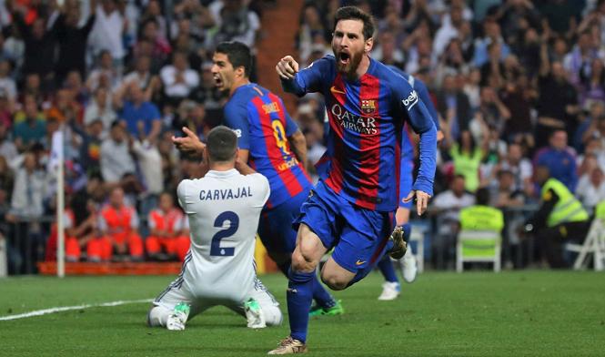 Messi lần cuối ghi bàn ở trận Siêu kinh điển cho Barca là khi nào?