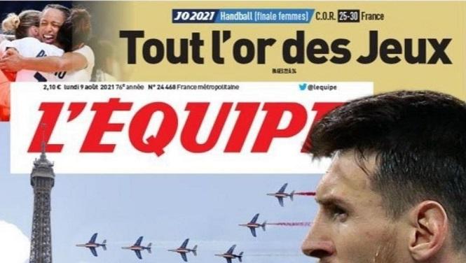 Paris chờ đợi sự xuất hiện của Messi vào hôm nay