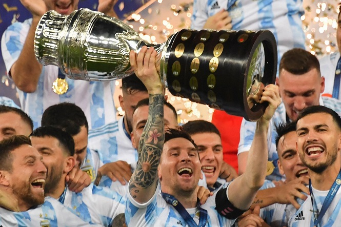 Bức ảnh Messi vô địch Copa America lập kỷ lục trên Instagram