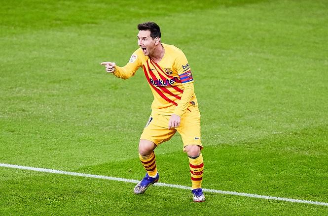 Messi giúp Barca áp sát kỷ lục thắng liên tiếp trên sân khách