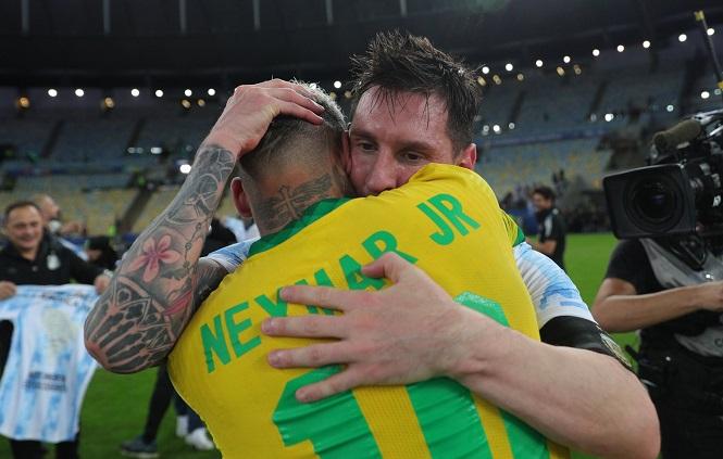 Lý do cả Messi và Neymar đều được chọn xuất sắc nhất Copa America 2021