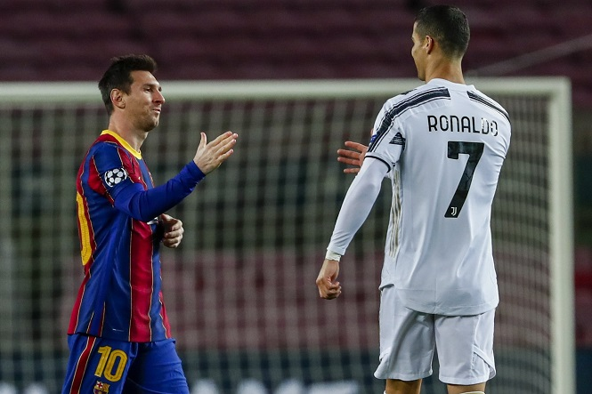 Messi có thể đụng độ Ronaldo ở vòng bảng Champions League