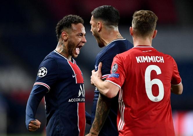 Neymar trình diễn siêu đẳng giúp PSG loại Bayern ở Champions League