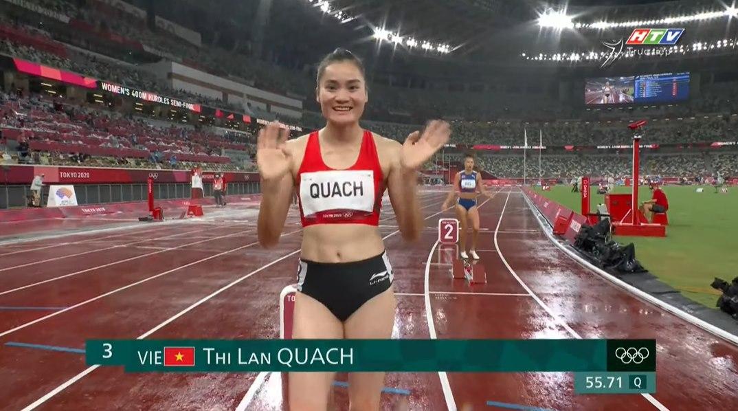 Giới chuyên môn và tuyển thủ điền kinh nhận xét màn thi Olympic của Quách Thị Lan