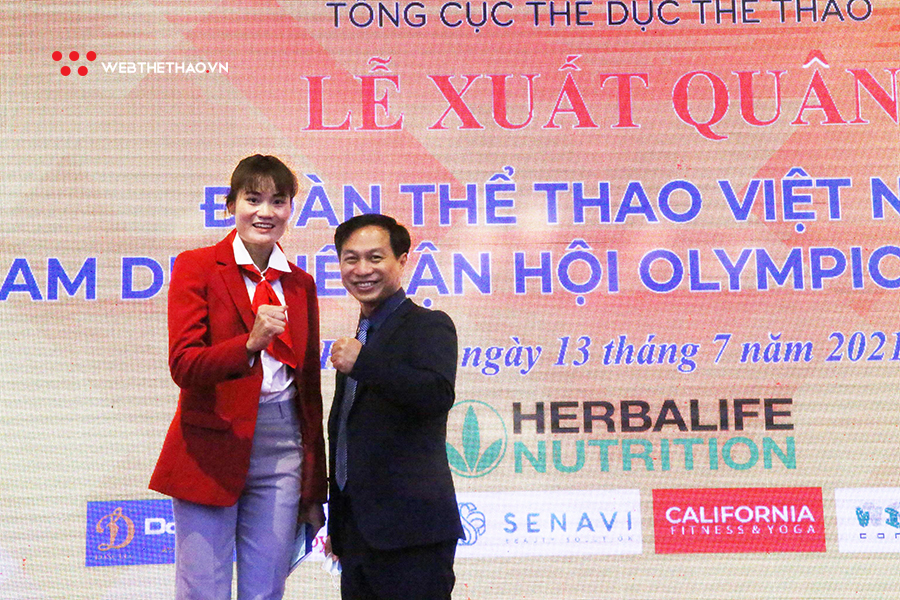 VĐV điền kinh Quách Thị Lan đặt mục tiêu phá kỷ lục quốc gia 400m rào tại Olympic 2020