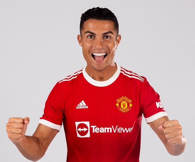 Ronaldo lần đầu xuất hiện trong áo đấu mới của MU