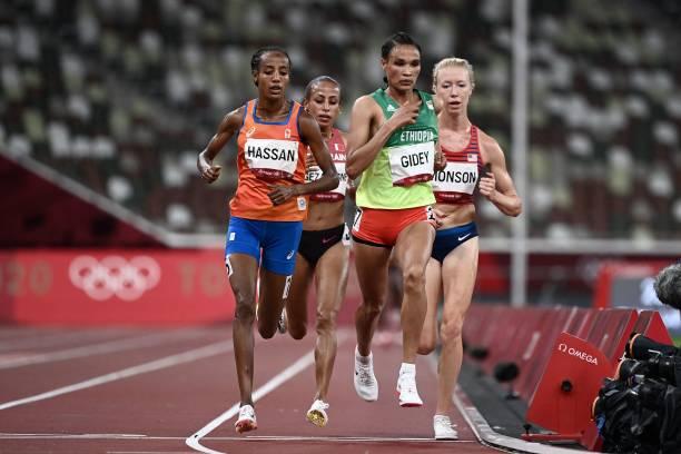 Sifan Hassan đánh bại kỷ lục gia thế giới Ethiopia giành HCV 10000m nữ Olympic Tokyo