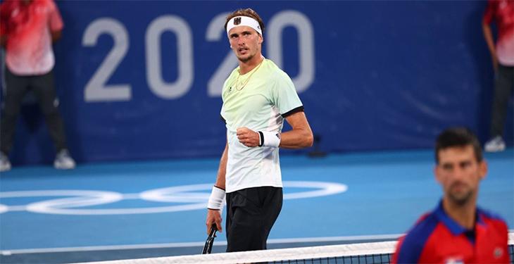 Kết quả tennis Olympic mới nhất: Zverev phá Golden Slam của Djokovic