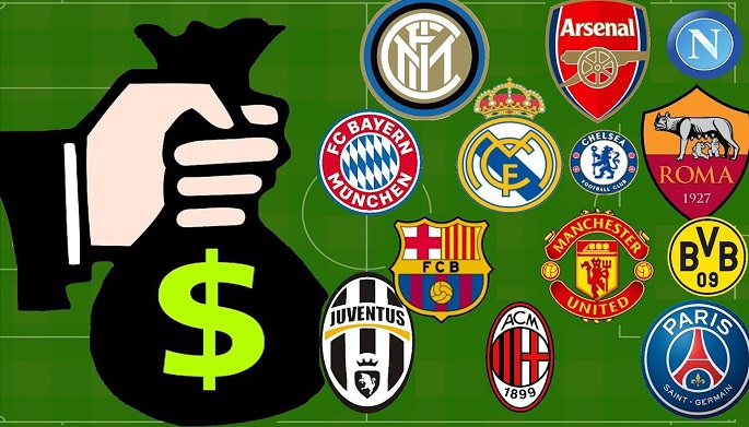 Các CLB châu Âu kiếm tiền theo những cách nào?