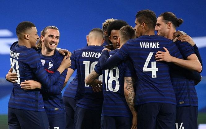 Tuyển Pháp được dự đoán có nhiều cơ hội vô địch Euro 2021