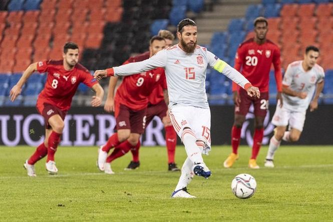 Tuyển Tây Ban Nha không dùng số áo của Ramos ở Euro 2021