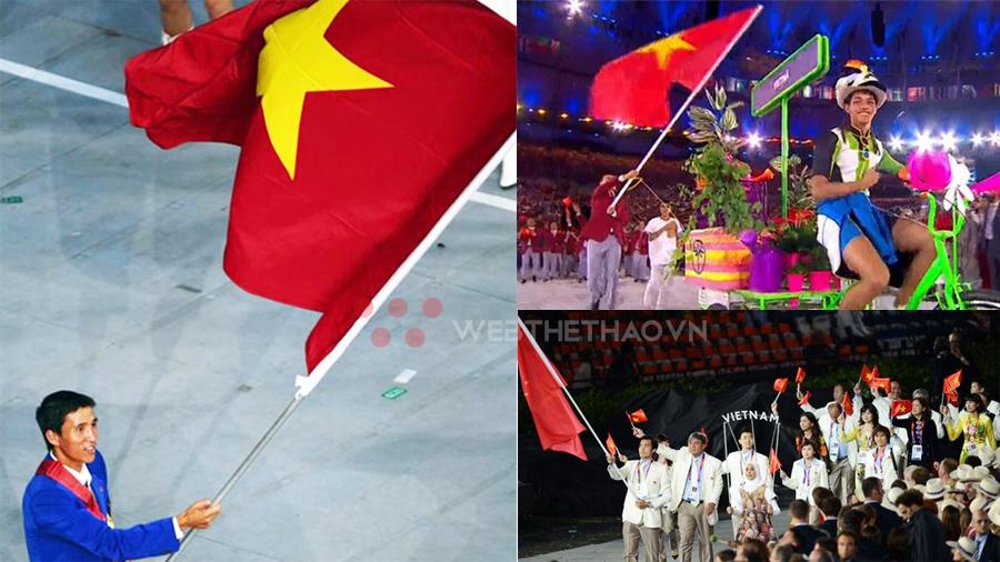 Danh sách người cầm cờ đoàn thể thao Việt Nam tại các kỳ Olympic
