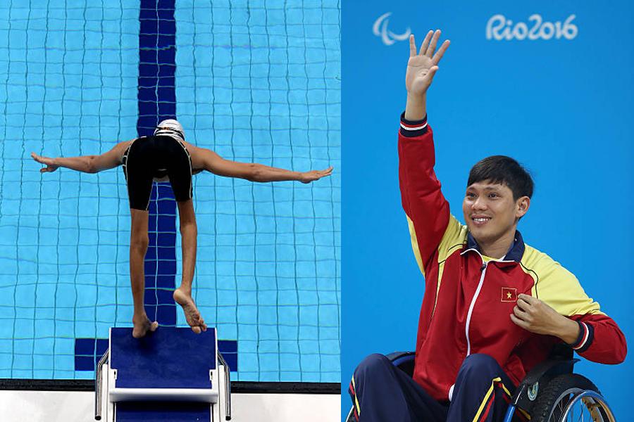 """""""Kình ngư"""" Võ Thanh Tùng không thể bảo vệ HCB bơi 50m tự do S5 Paralympic Tokyo"""